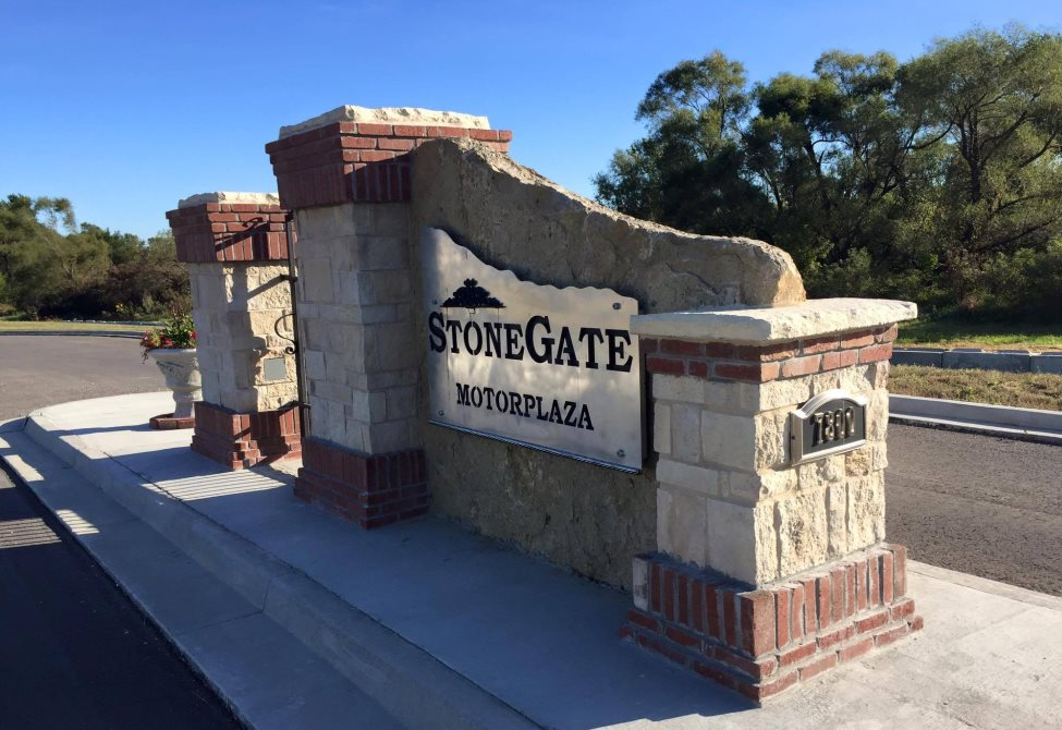 Stonegate Motor Plaza Entrance